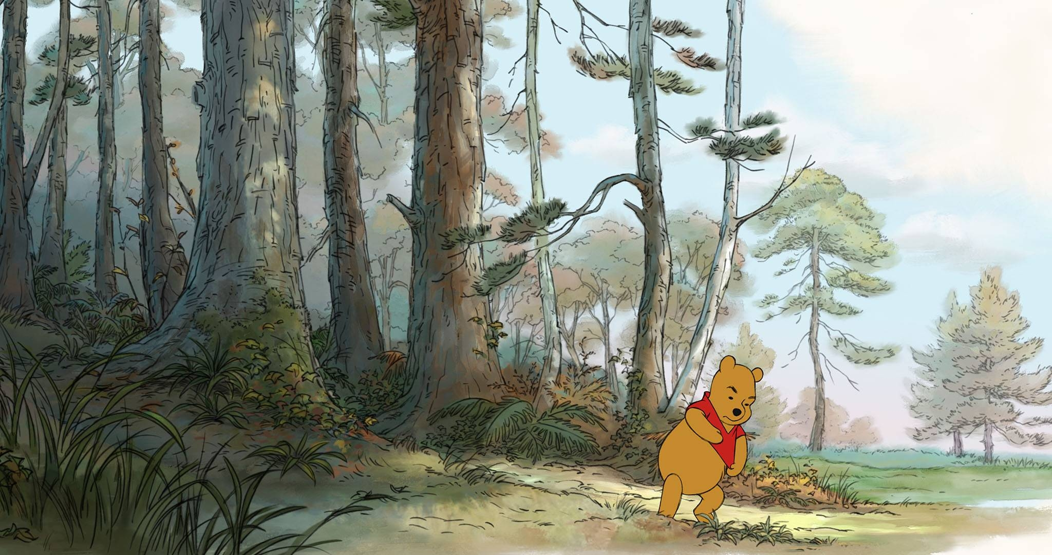 Winnie The Pooh Movie Images | Collider Intended For Best And Newest Classic Pooh Art (View 18 of 20)