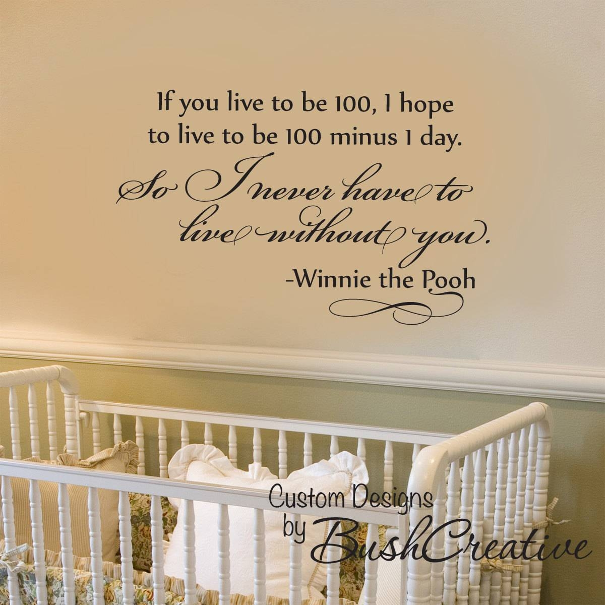 Winnie The Pooh Quotes Wall Decor – Techieblogie With Most Popular Winnie The Pooh Vinyl Wall Art (View 13 of 20)
