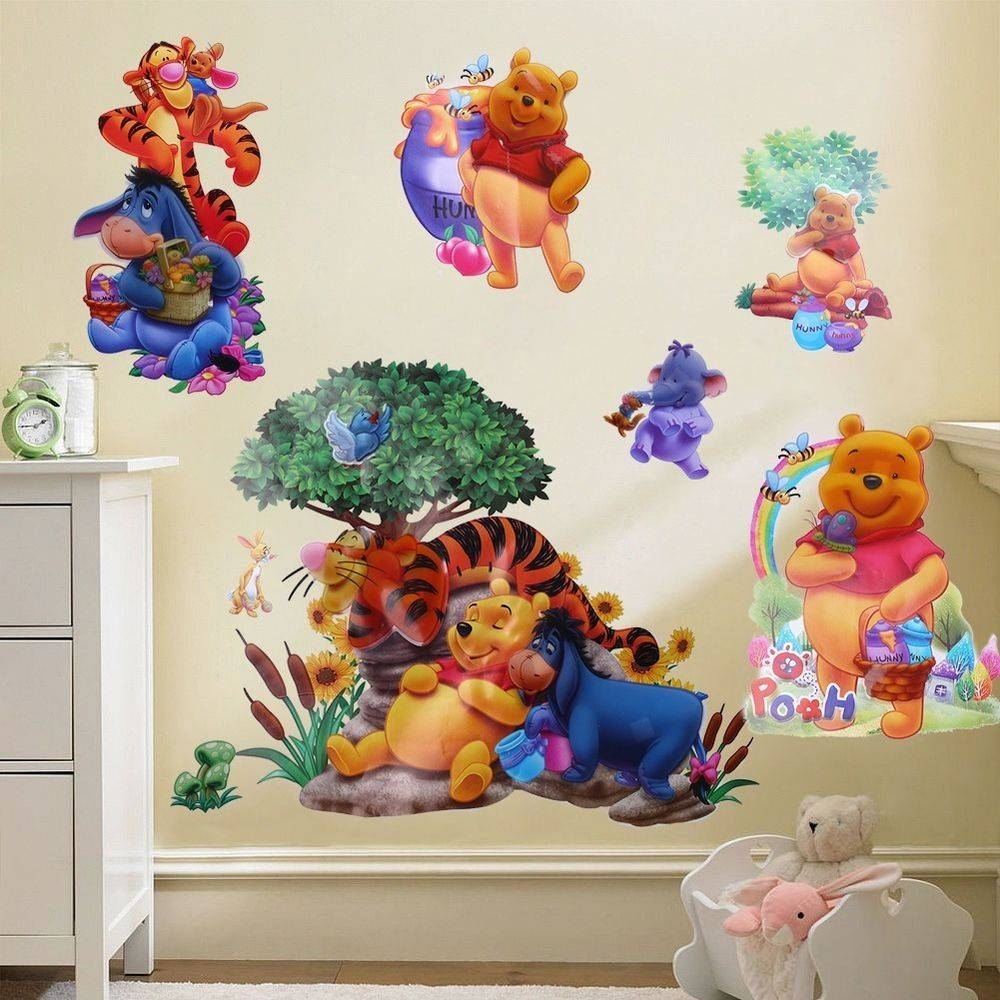 20 best collection of winnie the pooh vinyl wall art. Black Bedroom Furniture Sets. Home Design Ideas