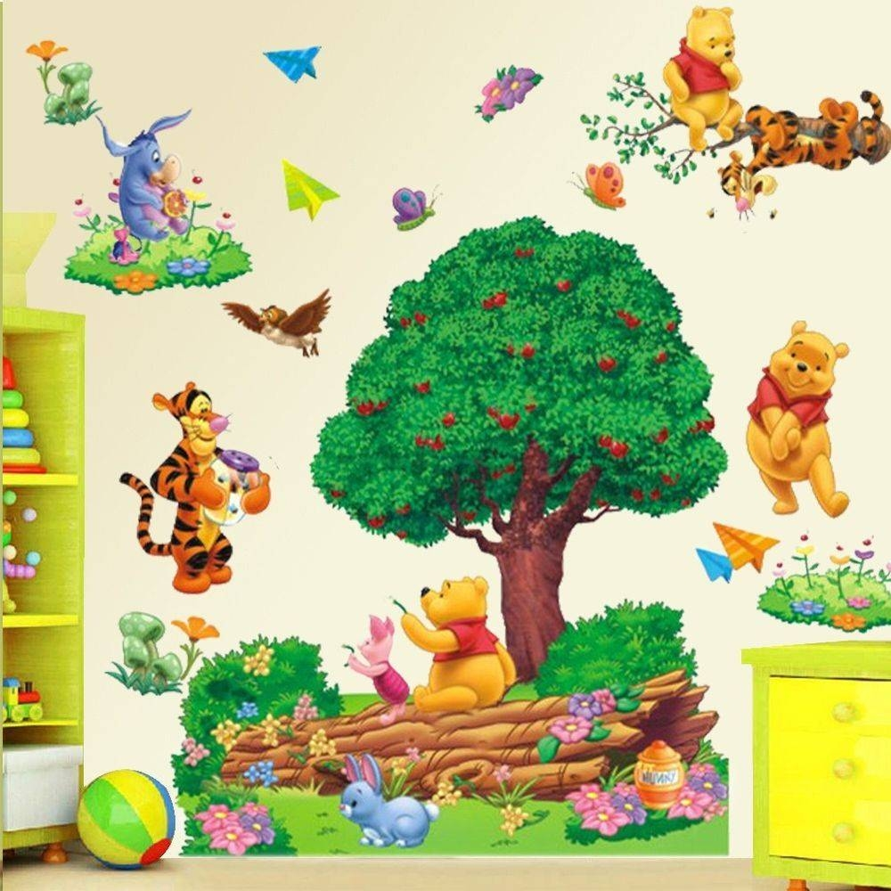 Winnie The Pooh Wall Art Nursery With 2018 Winnie The Pooh Vinyl Wall Art (View 18 of 20)