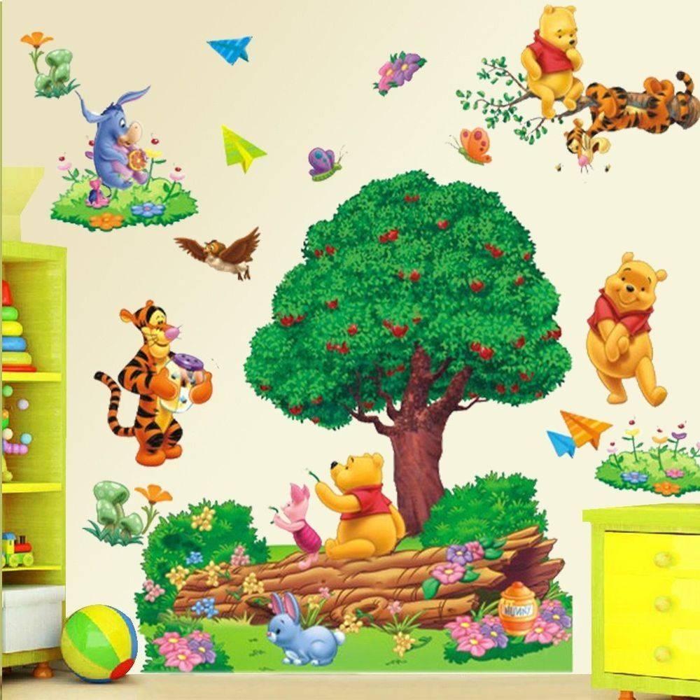 Winnie The Pooh Wall Art Nursery With 2018 Winnie The Pooh Vinyl Wall Art (View 18 of 20)