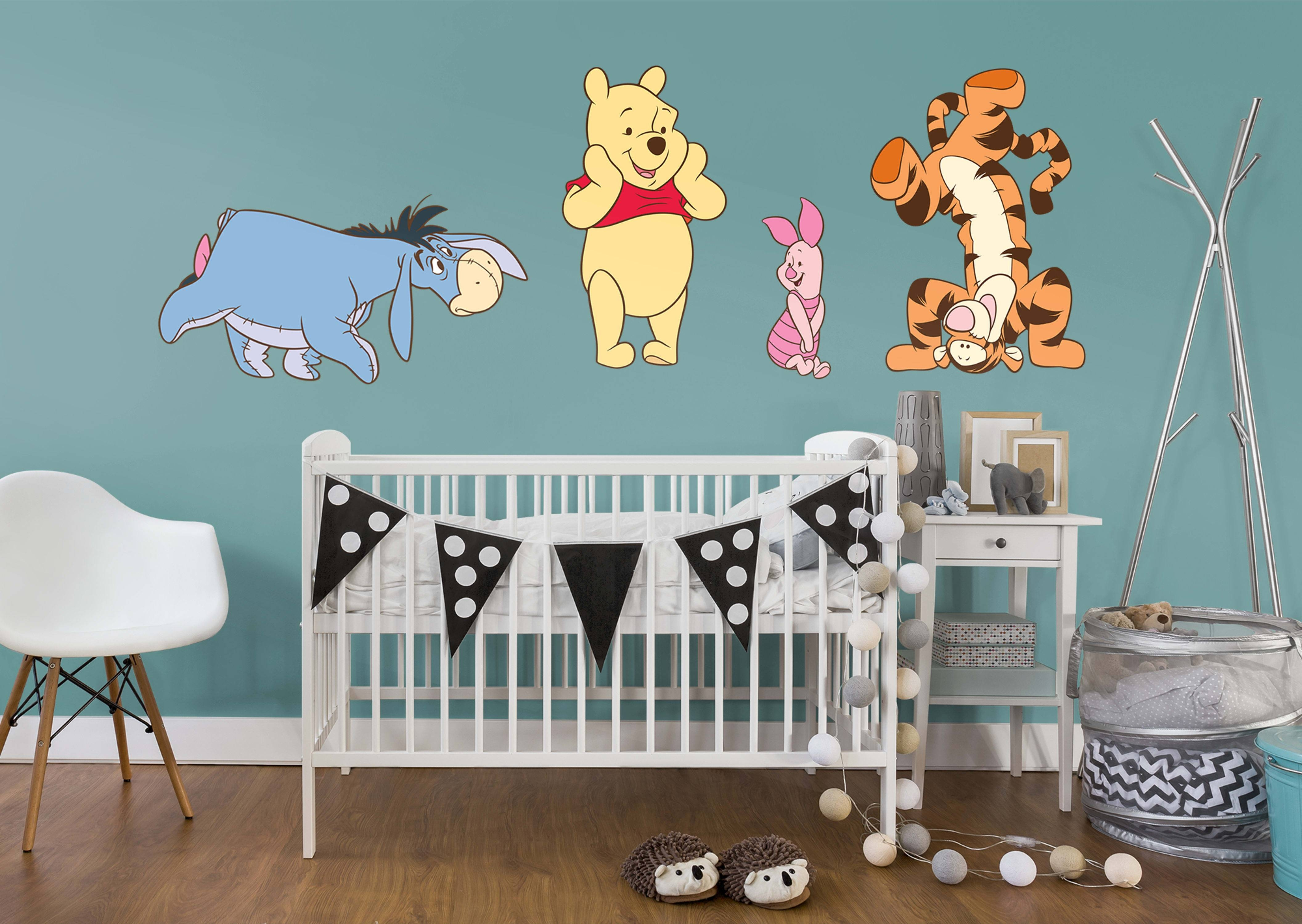 Winnie The Pooh Wall Stickers Image Collections – Home Wall With Regard To Most Popular Winnie The Pooh Wall Art (View 20 of 20)