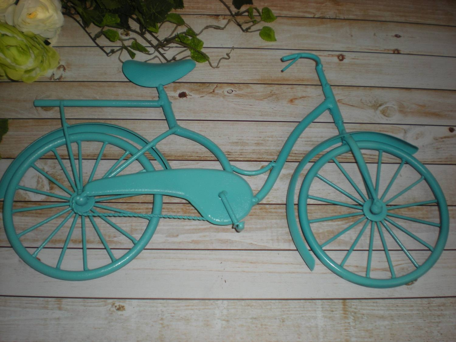 Winsome Metal Bicycle Wall Decor Bicycle Wall Art Wall Wrought Pertaining To Current Metal Bicycle Art (View 11 of 20)