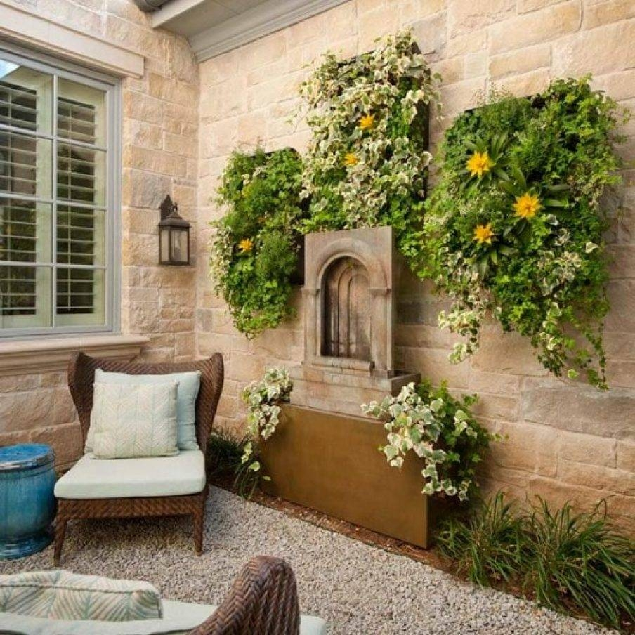Home Design Ideas Outside: 20 Ideas Of Modern Outdoor Wall Art