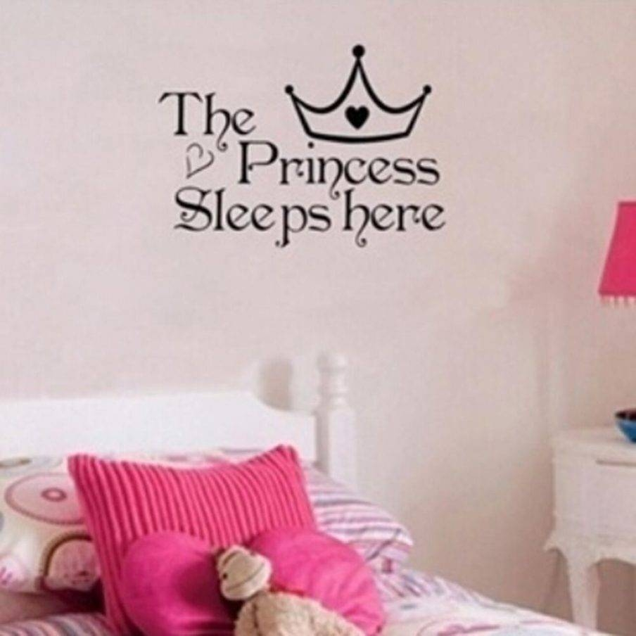 Winsome Princess Quote Canvas Wall Art D Disney Princess Rapunzel In Latest 3D Princess Crown Wall Art Decor (View 18 of 20)