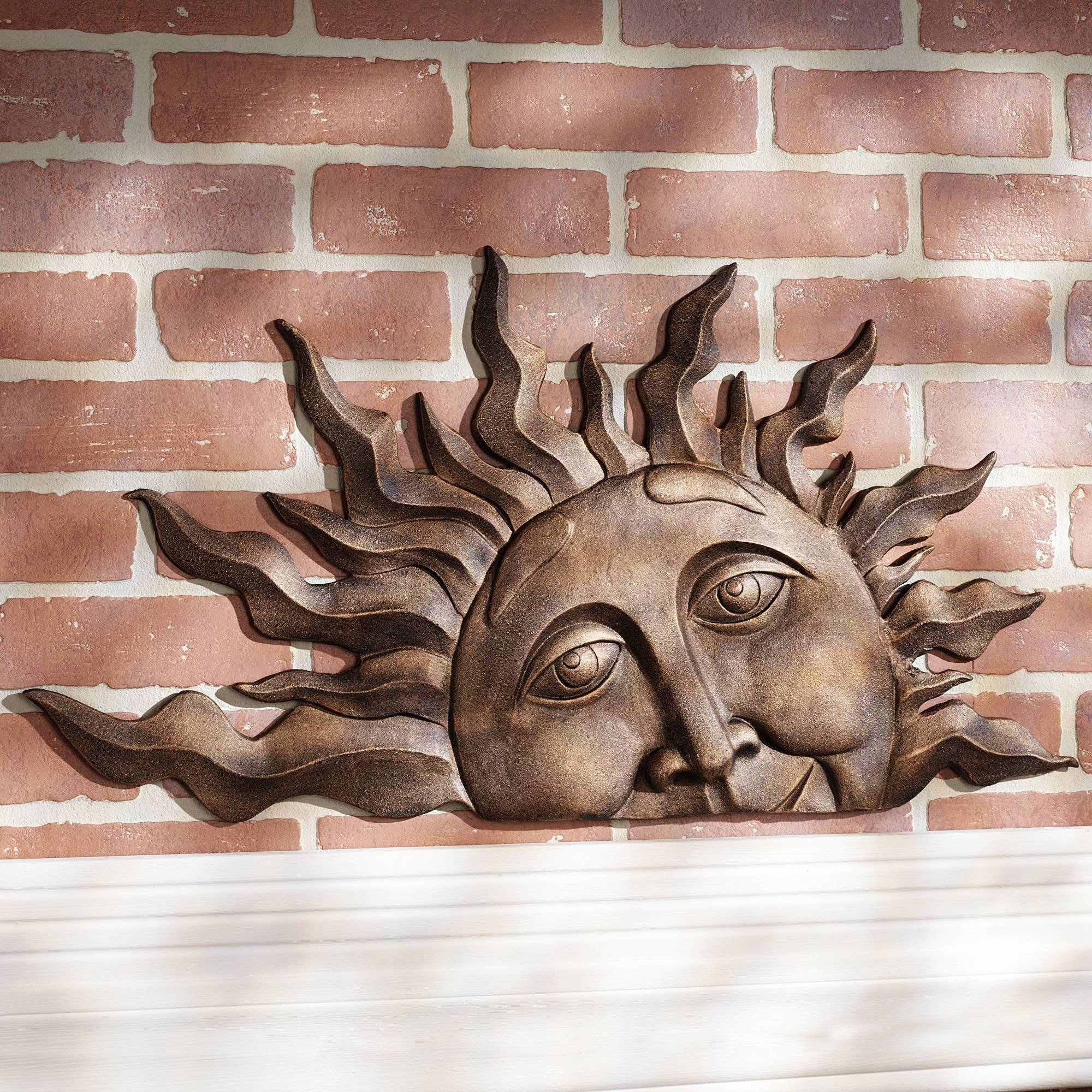 Winsome Wall Design Wall Decor Sun Face Outdoor Wall Decor (View 12 of 13)