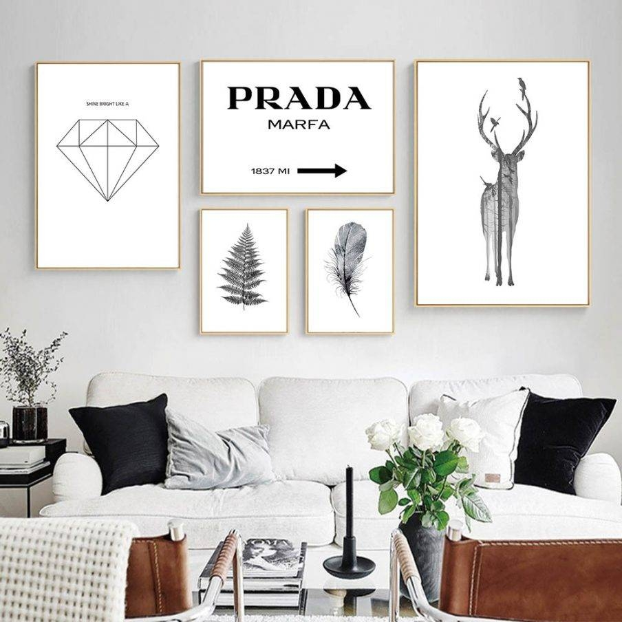 Winsome Wall Ideas Prada Canvas Wall Art Wall Decor Buy Prada Inside 2018 Prada Marfa Wall Art (View 25 of 25)