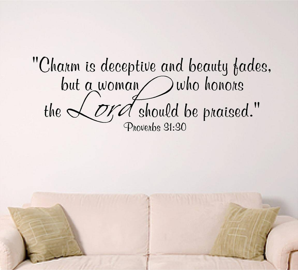 Women Of The Lord Bible Verse Wall Art With Recent Bible Verses Wall Art (Gallery 1 of 30)