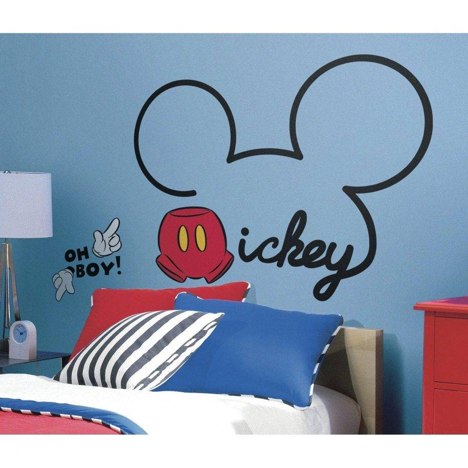 Wonderful Mickey Mouse Wall Art Ears Clubhouse Canvas Disney 4 Throughout Most Up To Date Disney Canvas Wall Art (View 20 of 20)