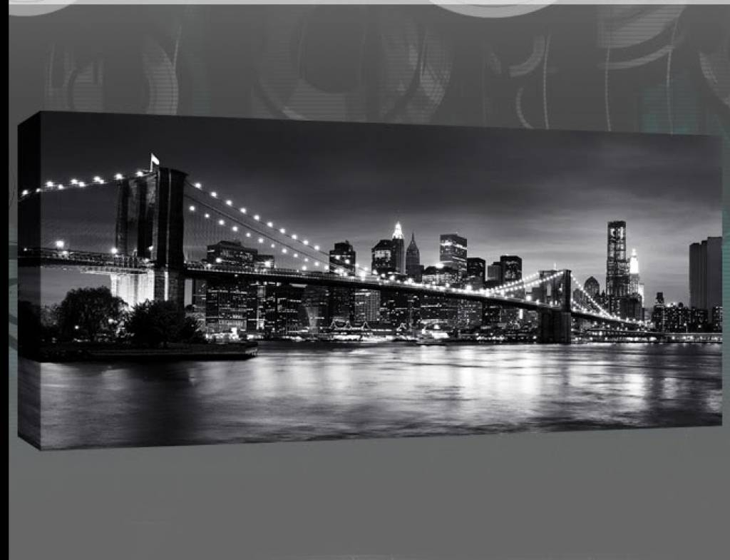 Wonderful New York City Canvas Wall Art Ikea Wall Art New York New In Best And Newest Black And White New York Canvas Wall Art (View 11 of 20)
