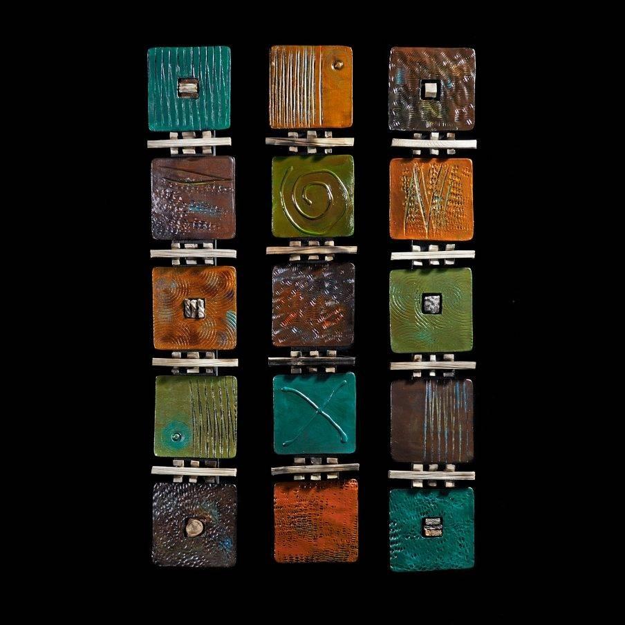 Wondrous Ceramic Wall Art Tiles Blooming Raku Wall Art Ceramic With Regard To Most Recent Ceramic Tile Wall Art (View 14 of 20)