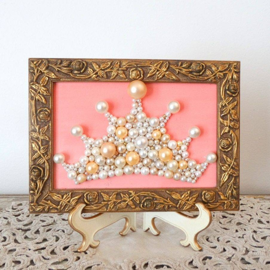 Wondrous Trendy Wall Princess Crown Wall Art Design Ideas Wall Intended For 2018 3D Princess Crown Wall Art Decor (View 20 of 20)