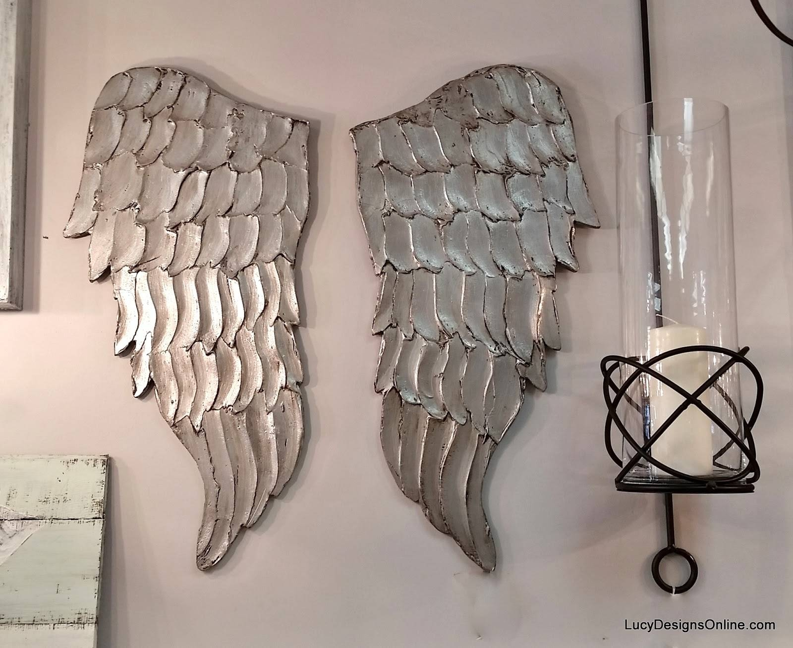 Wondrous Wall Ideas Angel Wings Wall Decor Wall Design Angel Wings Pertaining To 2017 Angel Wings Sculpture Plaque Wall Art (View 17 of 20)