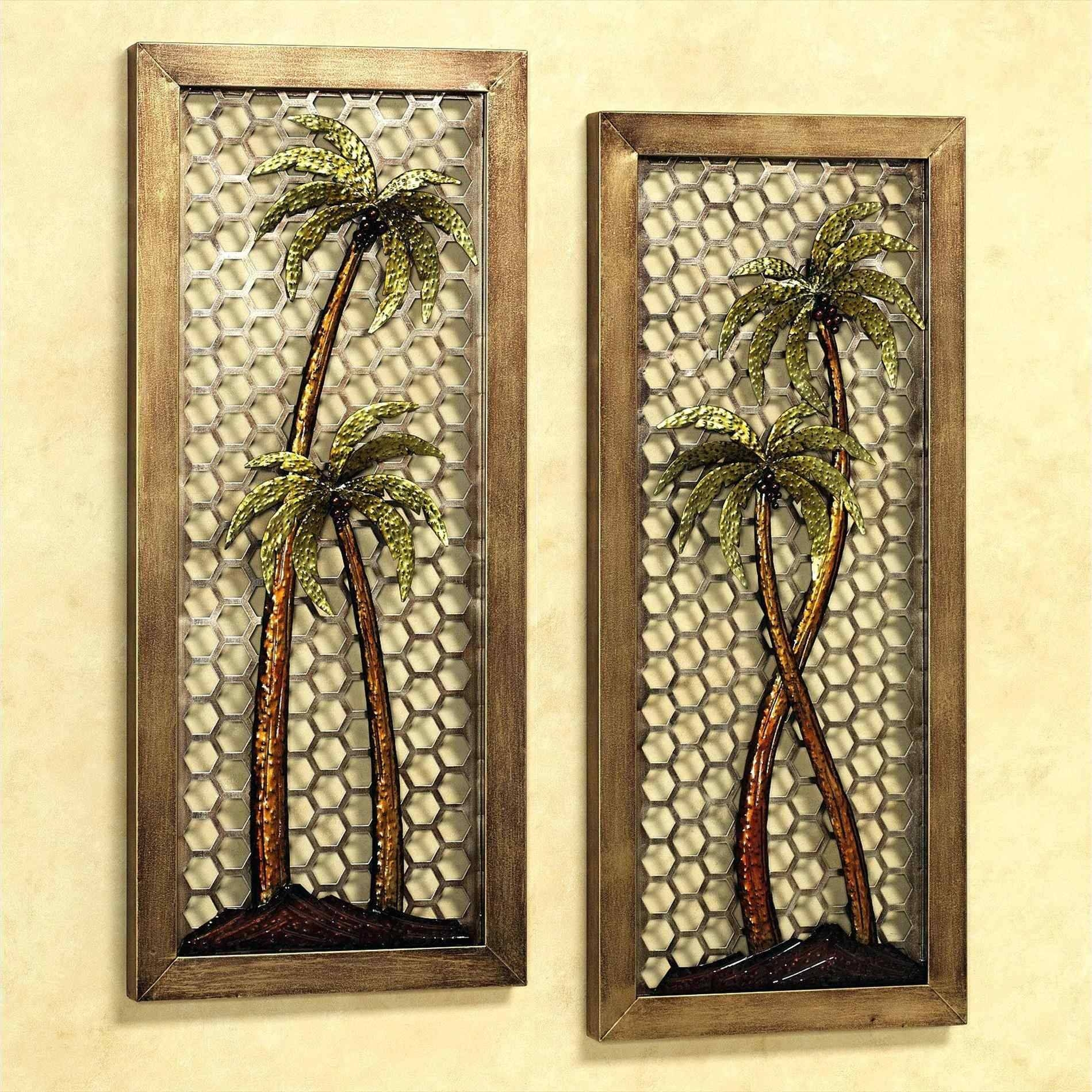 Wood And Metal Wall Art Eclectic Large Floral Tropical Carved With Most Recent Asian Metal Wall Art (Gallery 22 of 30)