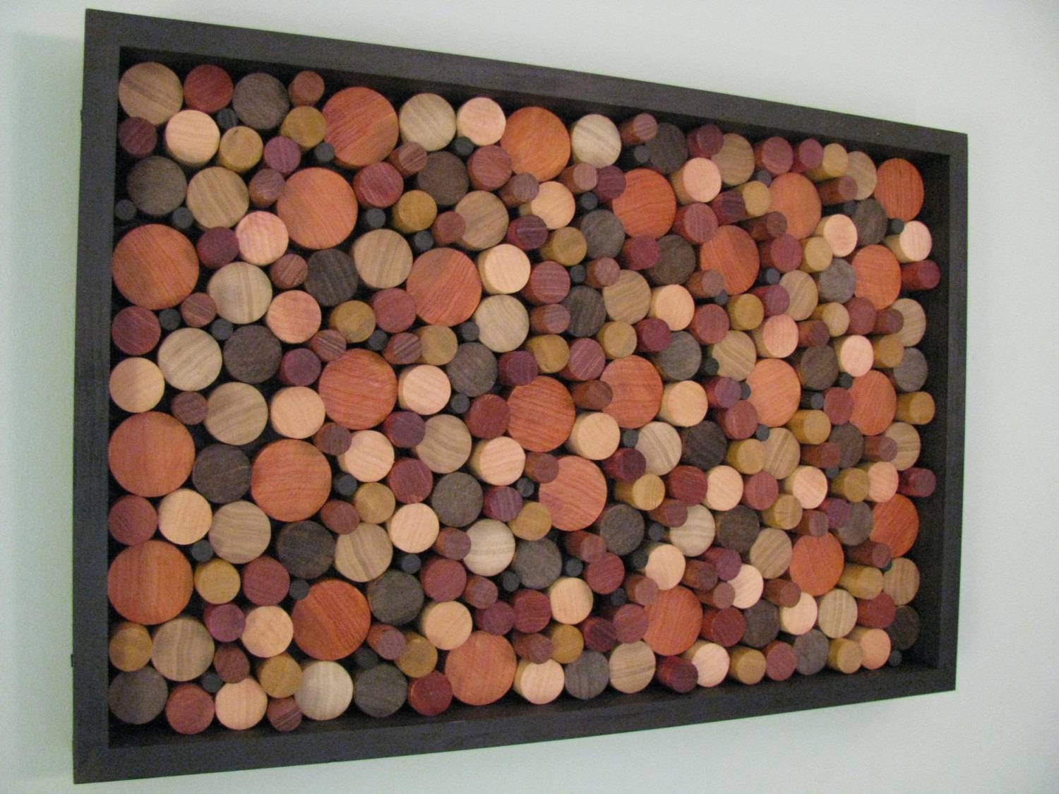 Wood Art Wooden Circles Wood Wall Art Wooden In Recent Unique Modern Wall Art (View 20 of 20)