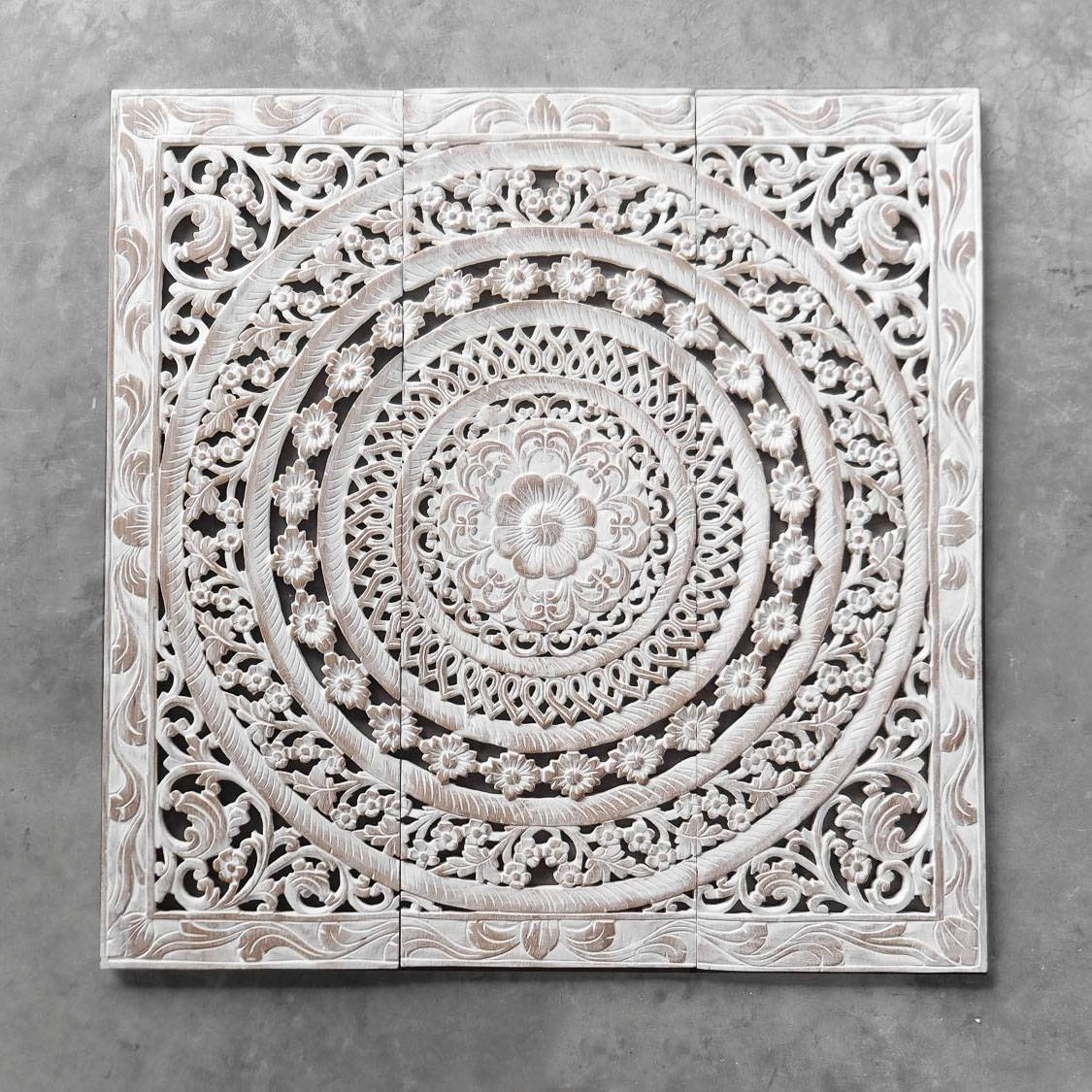 Wood Carved Wall Art | Himalayantrexplorers Pertaining To Latest Wooden Wall Art Panels (View 15 of 20)