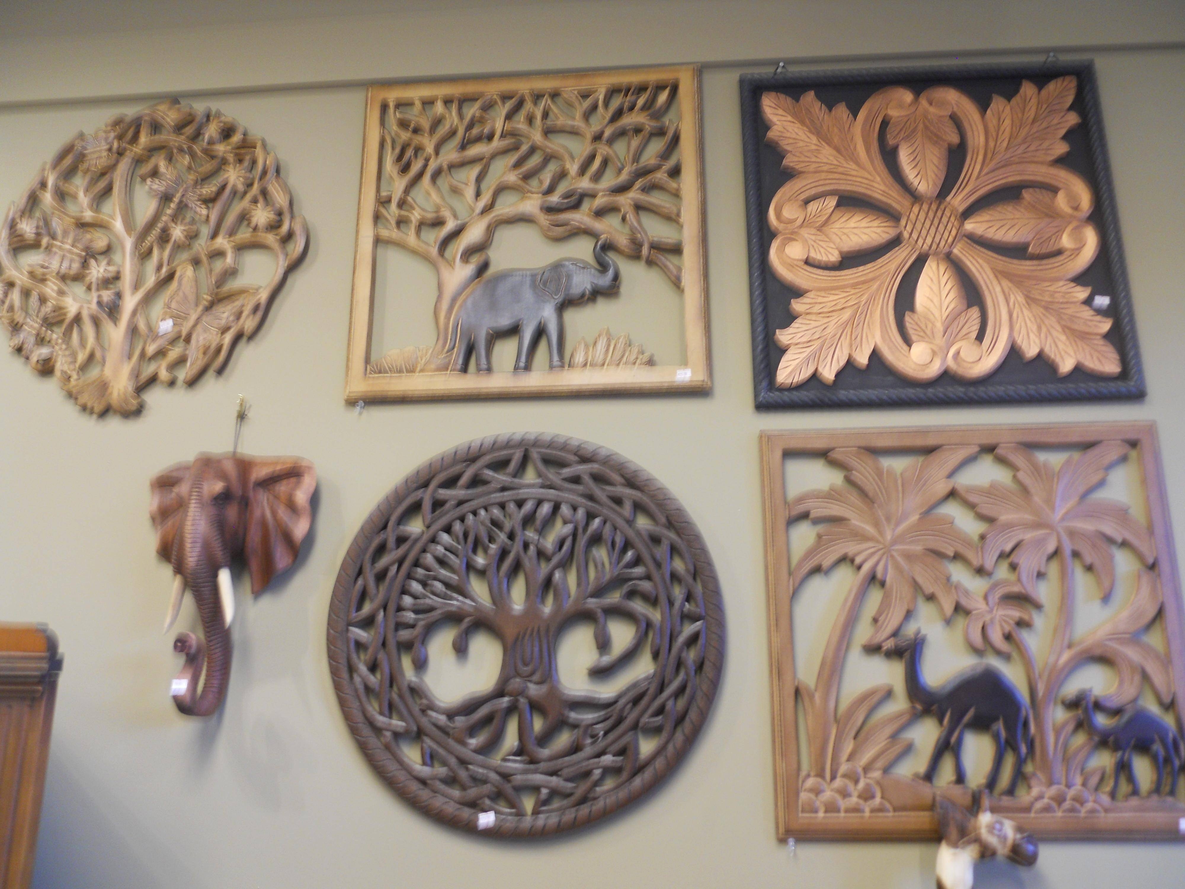 Wood Carved Wall Art | Himalayantrexplorers With Most Recent White Wooden Wall Art (View 11 of 20)