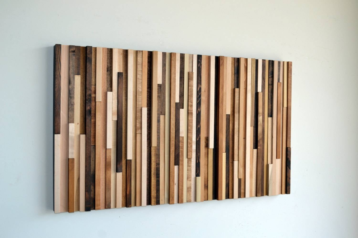 Wood Wall Art Wood Art Reclaimed Wood Art Wall With Regard To Latest Wood Wall Art Panels (View 2 of 20)
