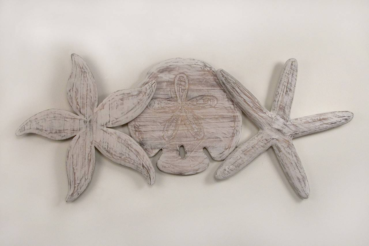 Wooden Starfish Wall Decor : How To Do Starfish Wall Decor Within 2018 Large Starfish Wall Decors (View 25 of 25)