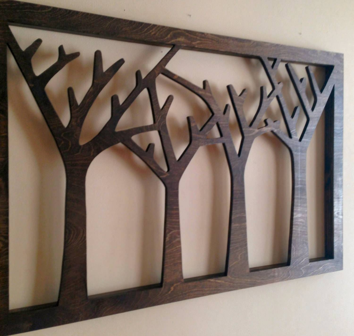 Wooden Wall Decoration Magnificent 12 Wood Art Designs 4 | Jumply (View 15 of 15)