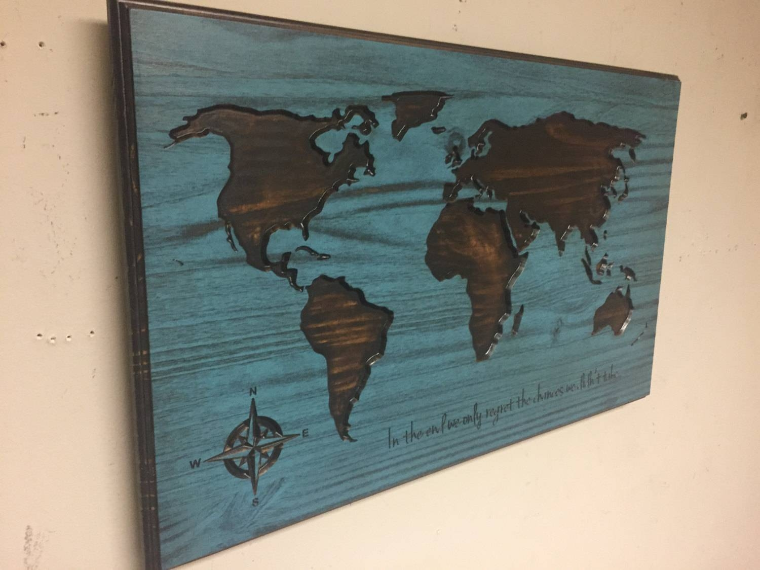 Wooden World Map Wall Art Large Carved Vintage And – Besttabletfor Within Newest Wooden World Map Wall Art (View 8 of 20)