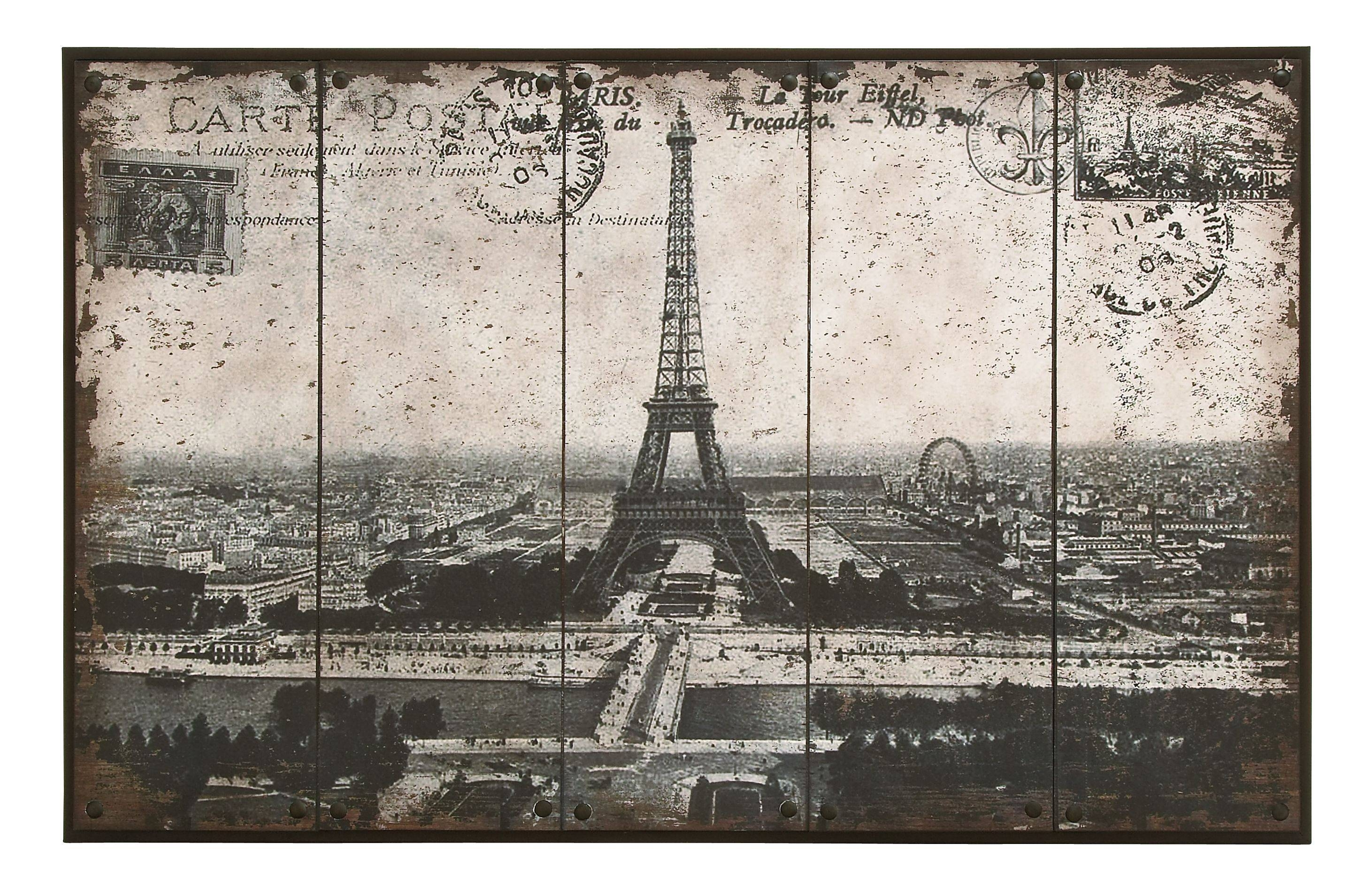 Woodland Throughout Best And Newest Metal Eiffel Tower Wall Art (View 13 of 30)