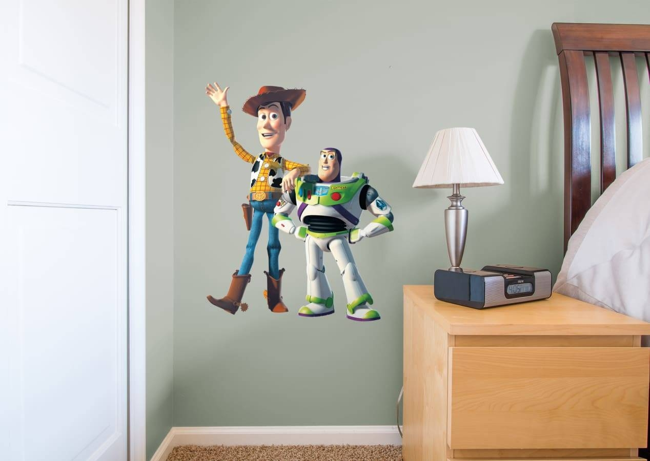 Woody & Buzz – Fathead Jr Wall Decal | Shop Fathead® For Toy Story Throughout Current Toy Story Wall Stickers (View 7 of 25)