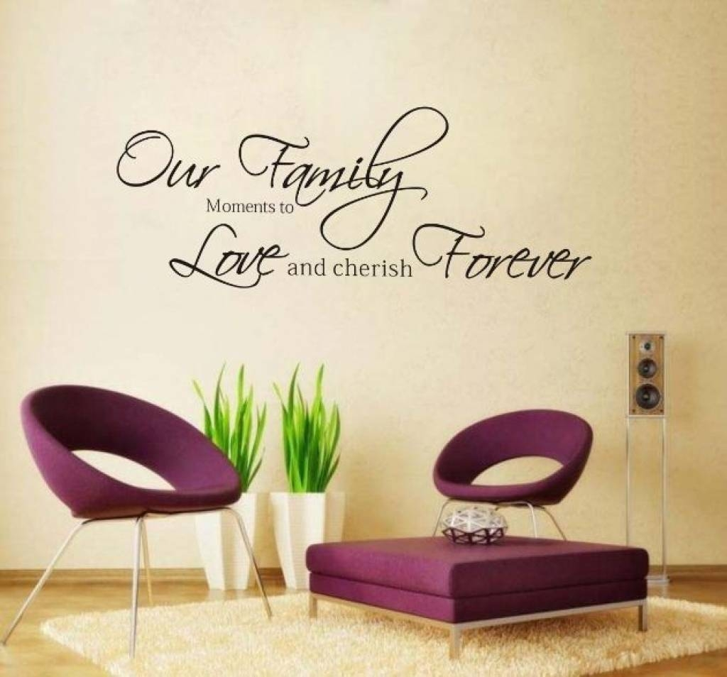 Word Wall Decorations Memory Photo Frame Wall Art Word Stickers Intended For Latest 3d Wall Art Words (View 2 of 20)