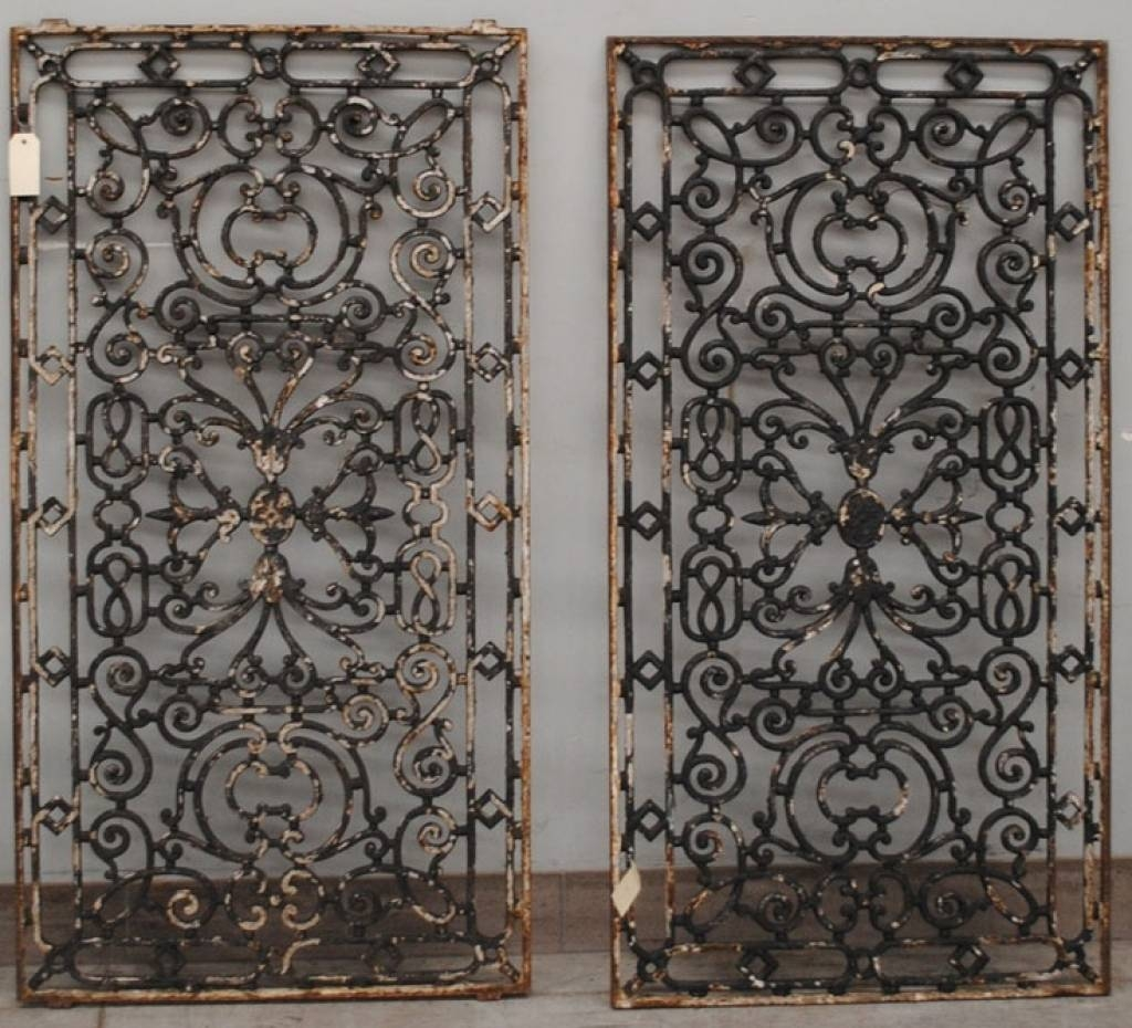 Wrought Iron Decorative Wall Panels Tuscan Wrought Iron Wall Decor Throughout Most Recent Tuscan Wrought Iron Wall Art (View 4 of 20)