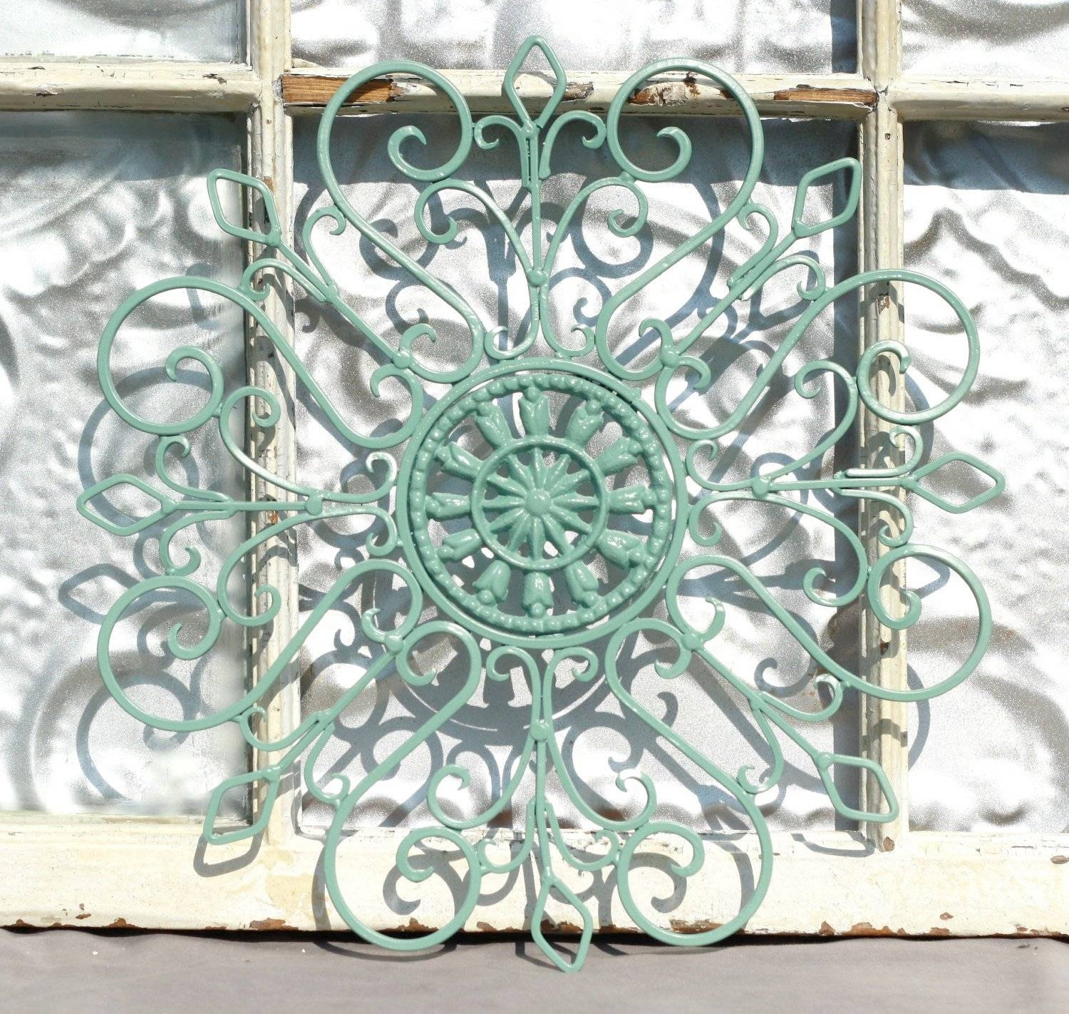 Bon Wrought Iron Garden Wall Art Modern Style Home Design Idea Shabby Within  Most Up To Date