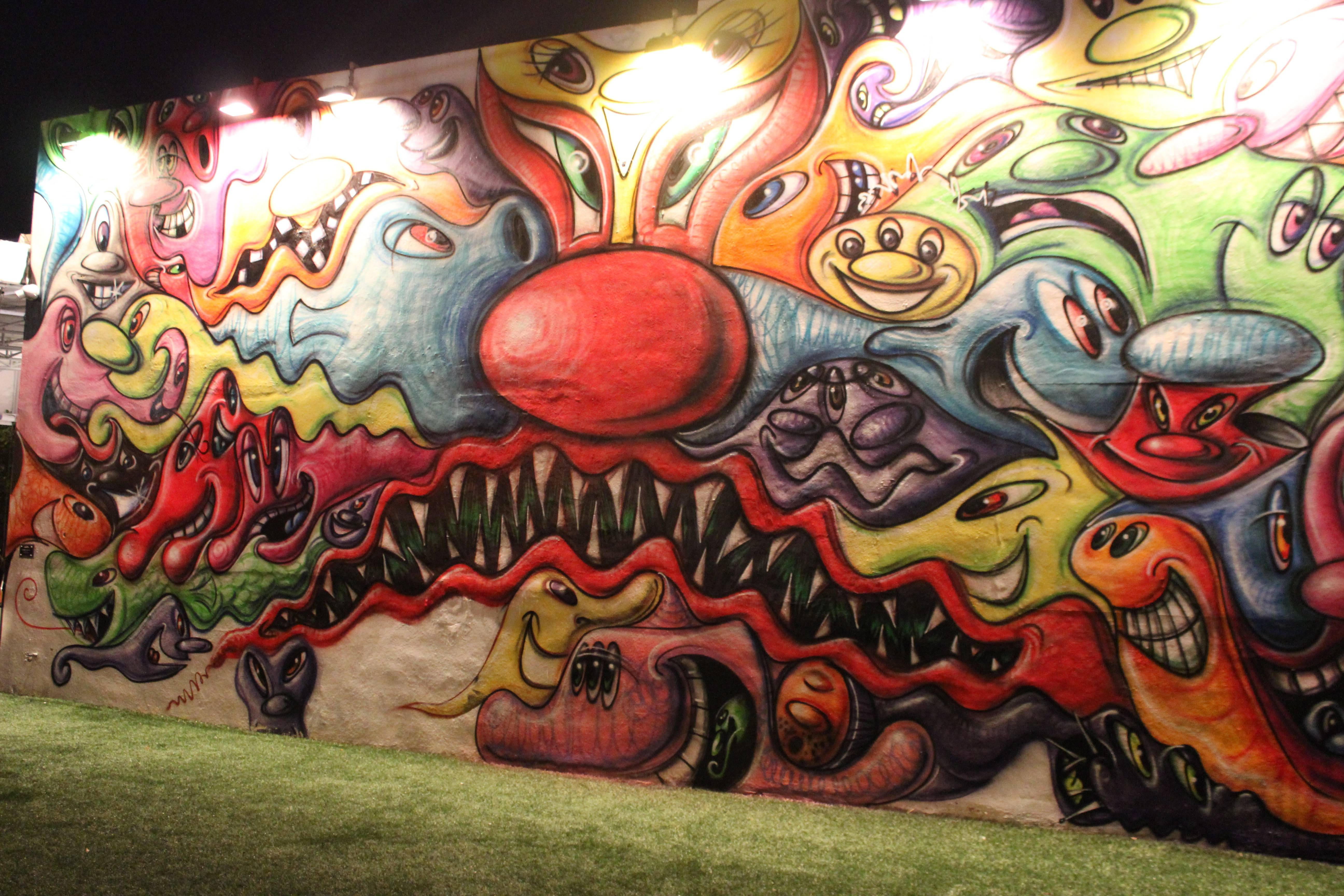 Wynwood Art Wall – Miami – Mairanny With Regard To Current Miami Wall Art (View 19 of 20)
