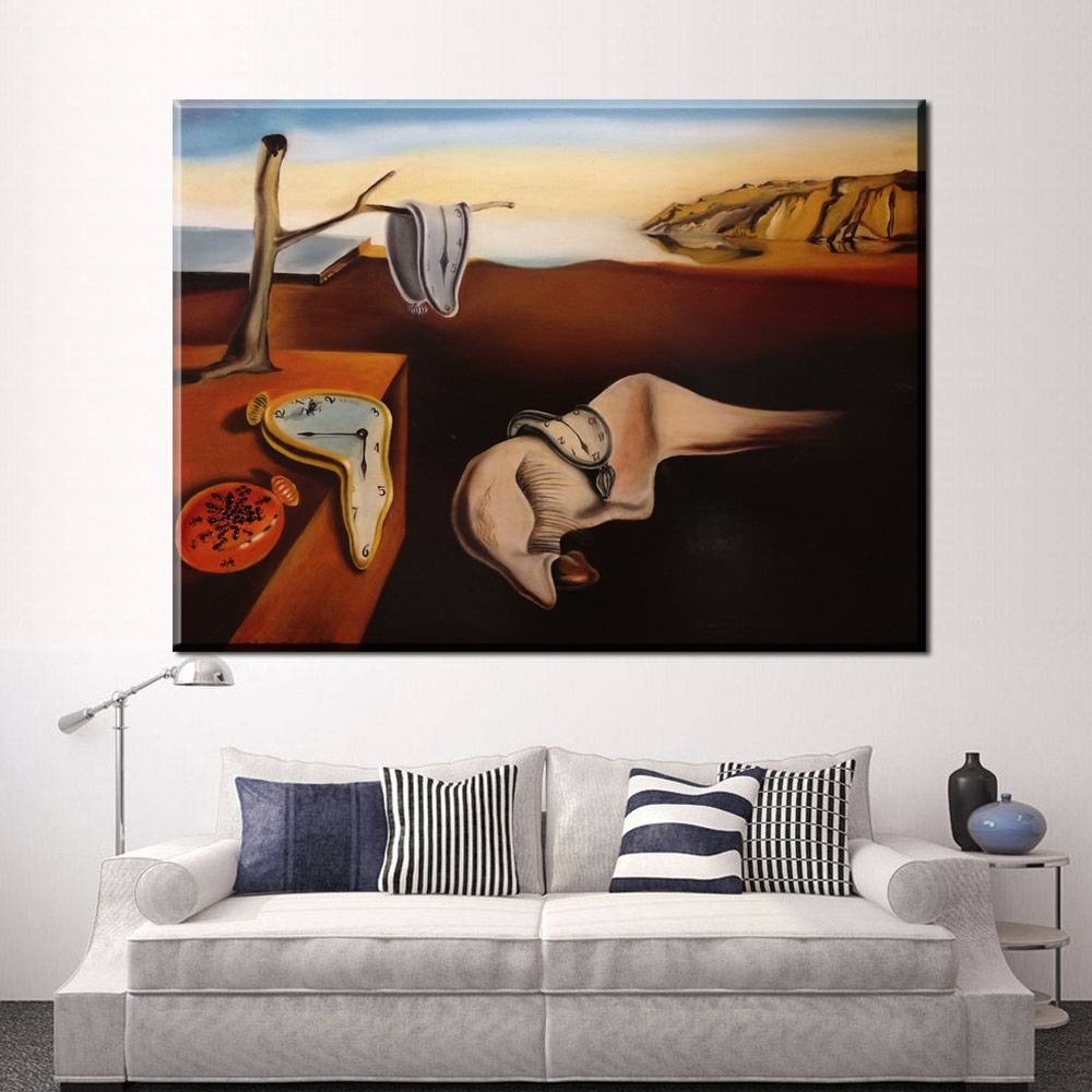 Xdr587Persistance Of Memory Salvador Dali Art Posters Hd Wall For 2018 Salvador Dali Wall Art (View 20 of 20)