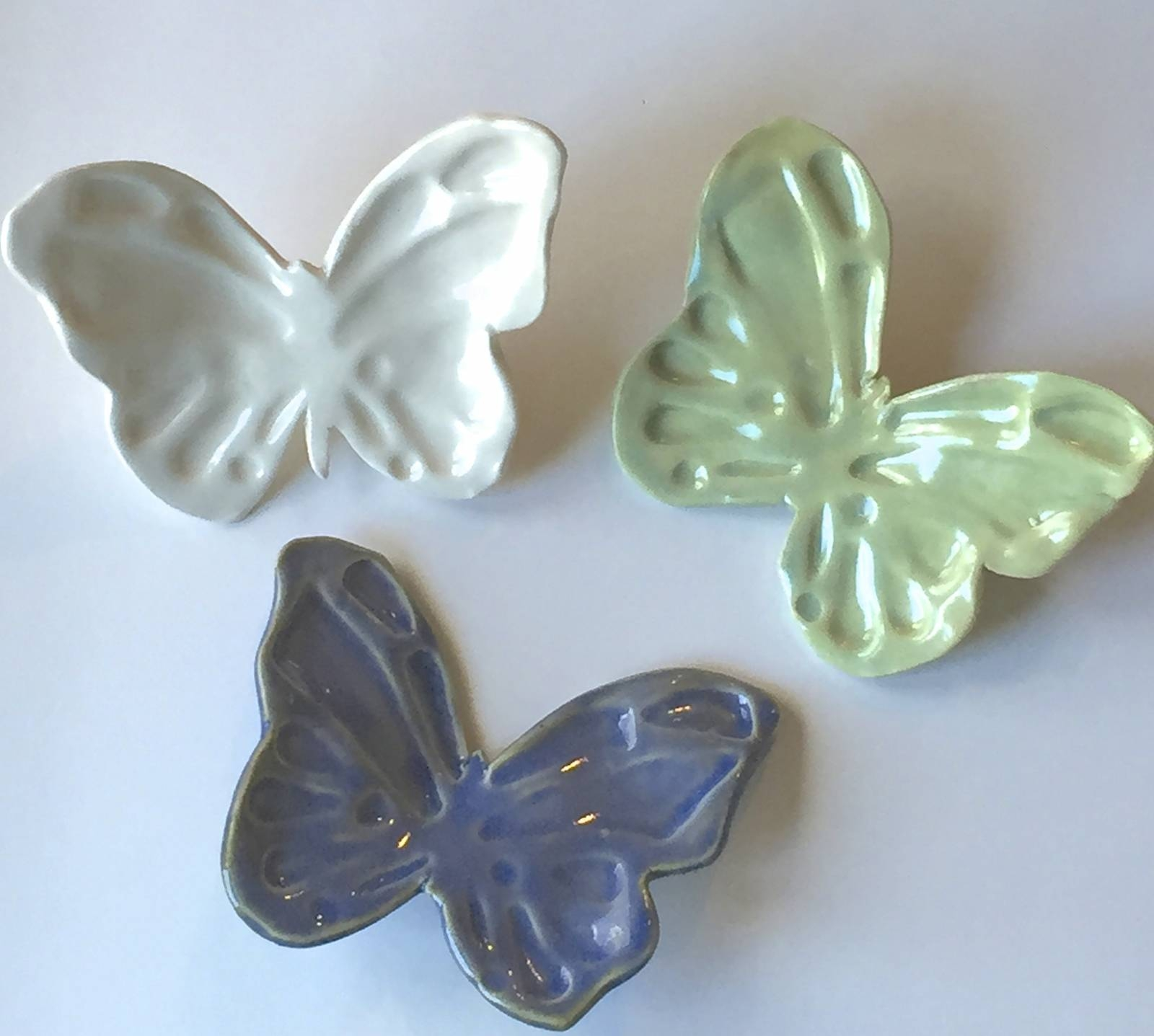 Yard And Garden Pieces | Karen O'lone Hahn Inside Latest Ceramic Butterfly Wall Art (View 21 of 30)