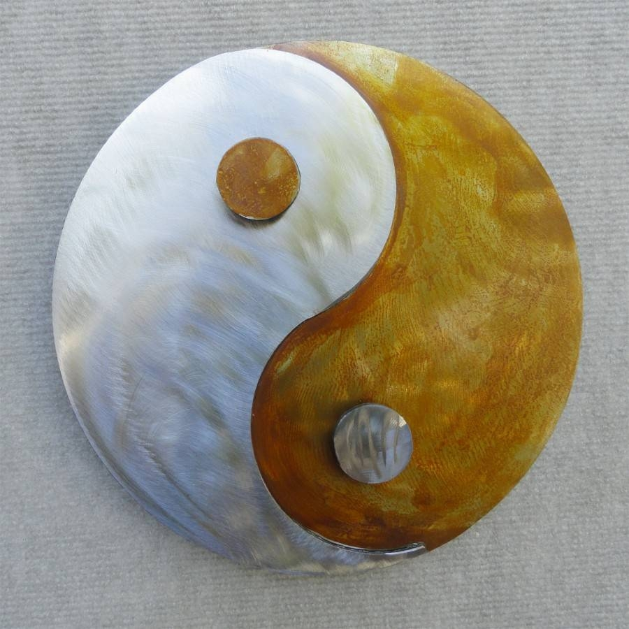 Yin Yang Metal Wall Art | For Best And Newest Yin Yang Wall Art (View 11 of 30)