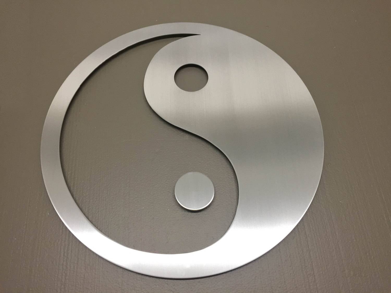 Yin Yang Metal Wall Art Wall Art Metal Wall Decor Metal Throughout Most Recently Released Yin Yang Wall Art (Gallery 17 of 30)