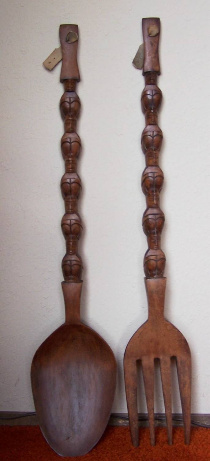 You Know You're In A Filipino House When… | Raising Coconuts For Newest Big Spoon And Fork Wall Decor (Gallery 29 of 30)