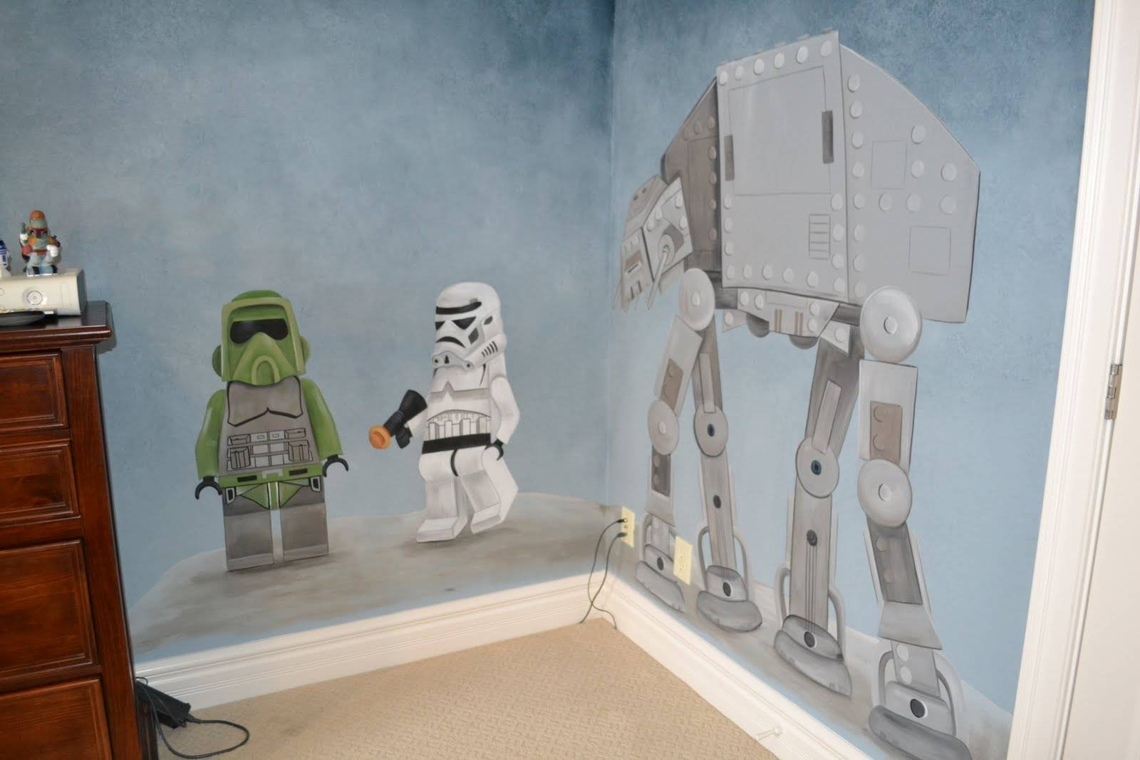 You're Artcorie Kline: Star Wars Mural With Regard To Most Up To Date Lego Star Wars Wall Art (View 14 of 20)