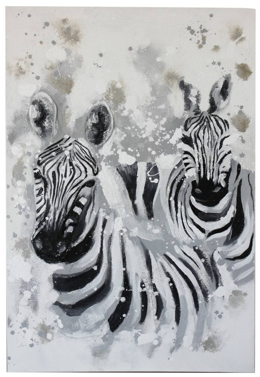 Zebra Wall Art Fabulous Large Wall Art On 3d Wall Art – Home With Regard To Most Popular Zebra 3d Wall Art (View 14 of 20)