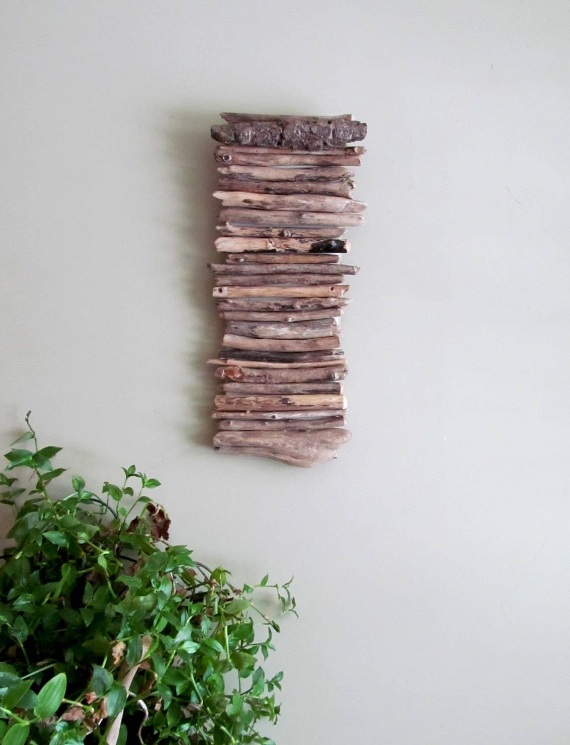 Zspmed Of Driftwood Wall Decor Great For Your Interior Decor Home  Throughout Newest Driftwood Wall Art