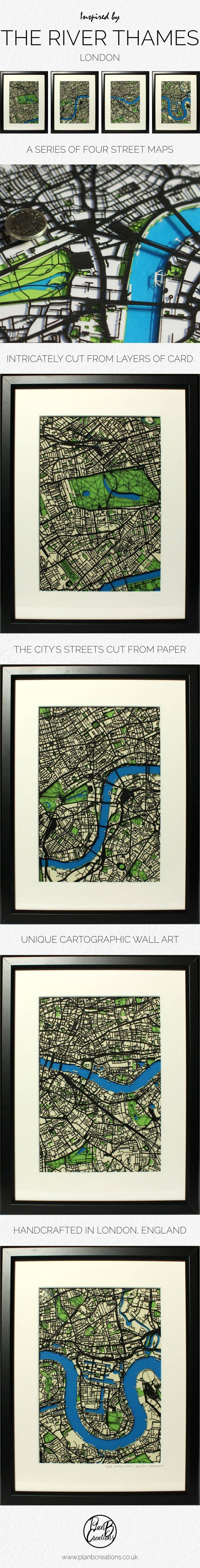 10 Best Paper Cut Map Art – London Street Map Wall Art Images On With 2018 Street Map Wall Art (View 1 of 20)
