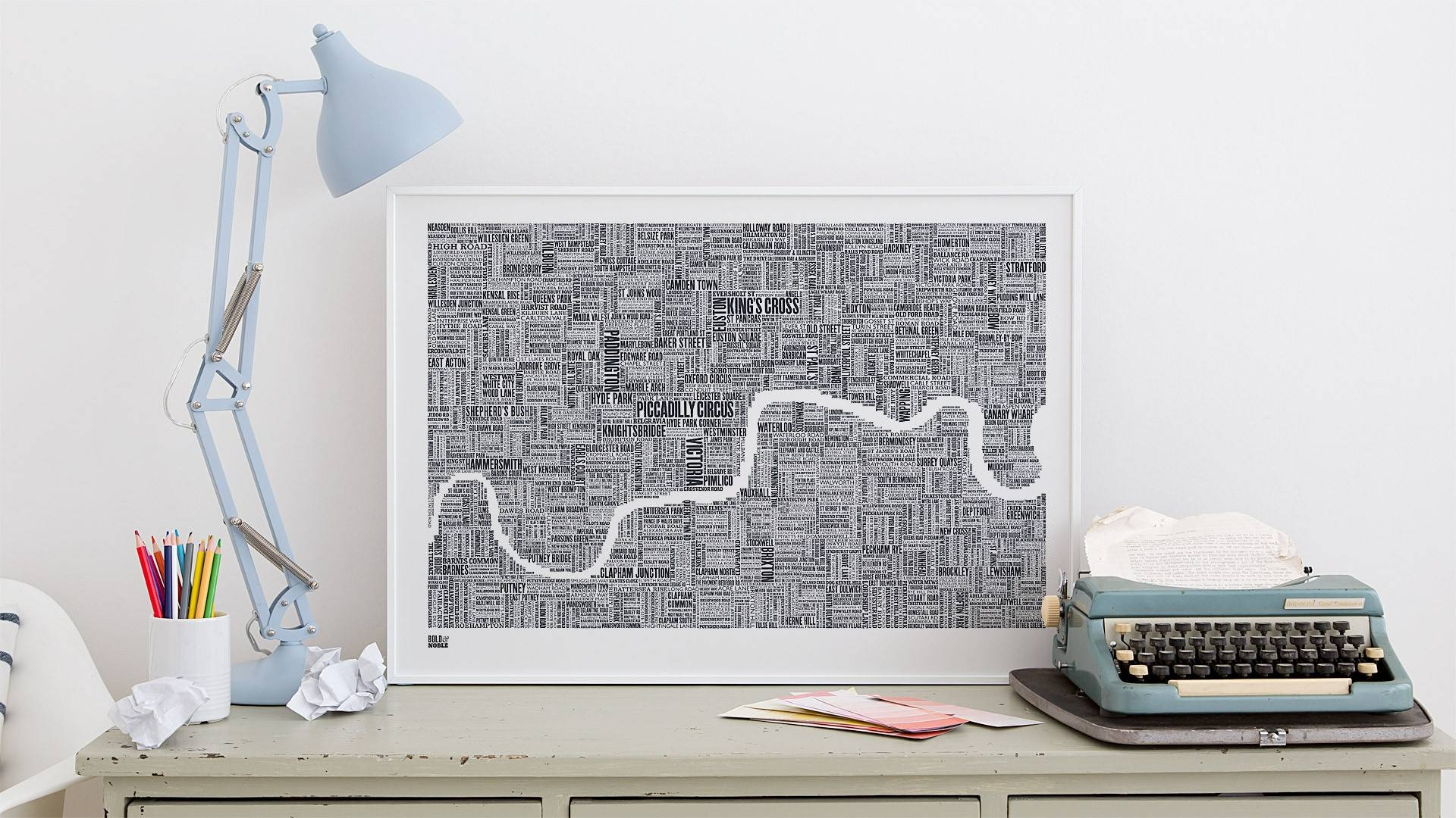 11 Hand Drawn Maps To Adorn Any London Lover's Wall – Now (View 11 of 20)