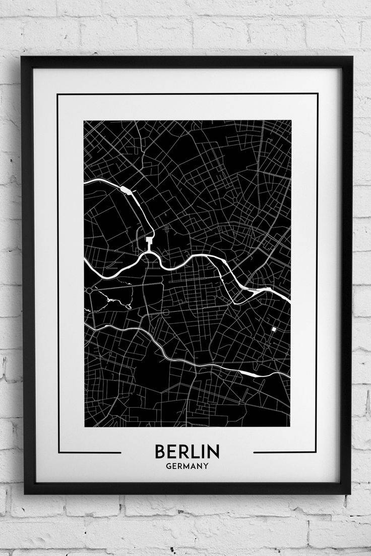 114 Best City Map Posters, Wall Art, Decor Images On Pinterest Throughout Most Recently Released City Map Wall Art (View 1 of 20)