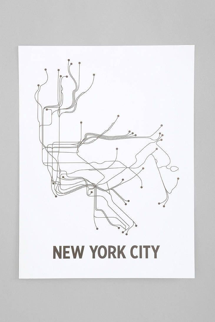 12 Best Cuadros Images On Pinterest | Frame, Subway Map And Graphics Intended For Most Up To Date Nyc Subway Map Wall Art (View 1 of 20)