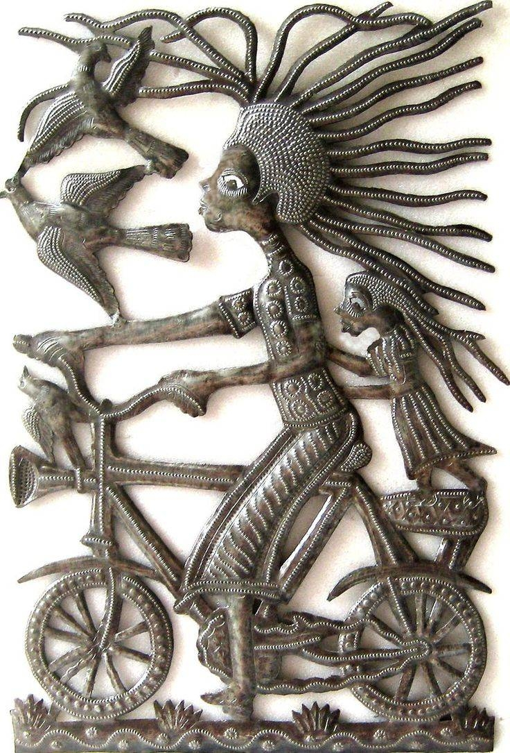 1313 Best Haitian Recycled Steel Drum Art, Metal Home Décor With Current Haitian Metal Wall Art (View 12 of 20)