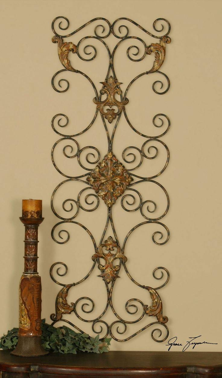 17 Best Wall Decor Images On Pinterest | Metal Walls, Metal Wall For Best And Newest Tuscan Metal Wall Art (View 3 of 20)