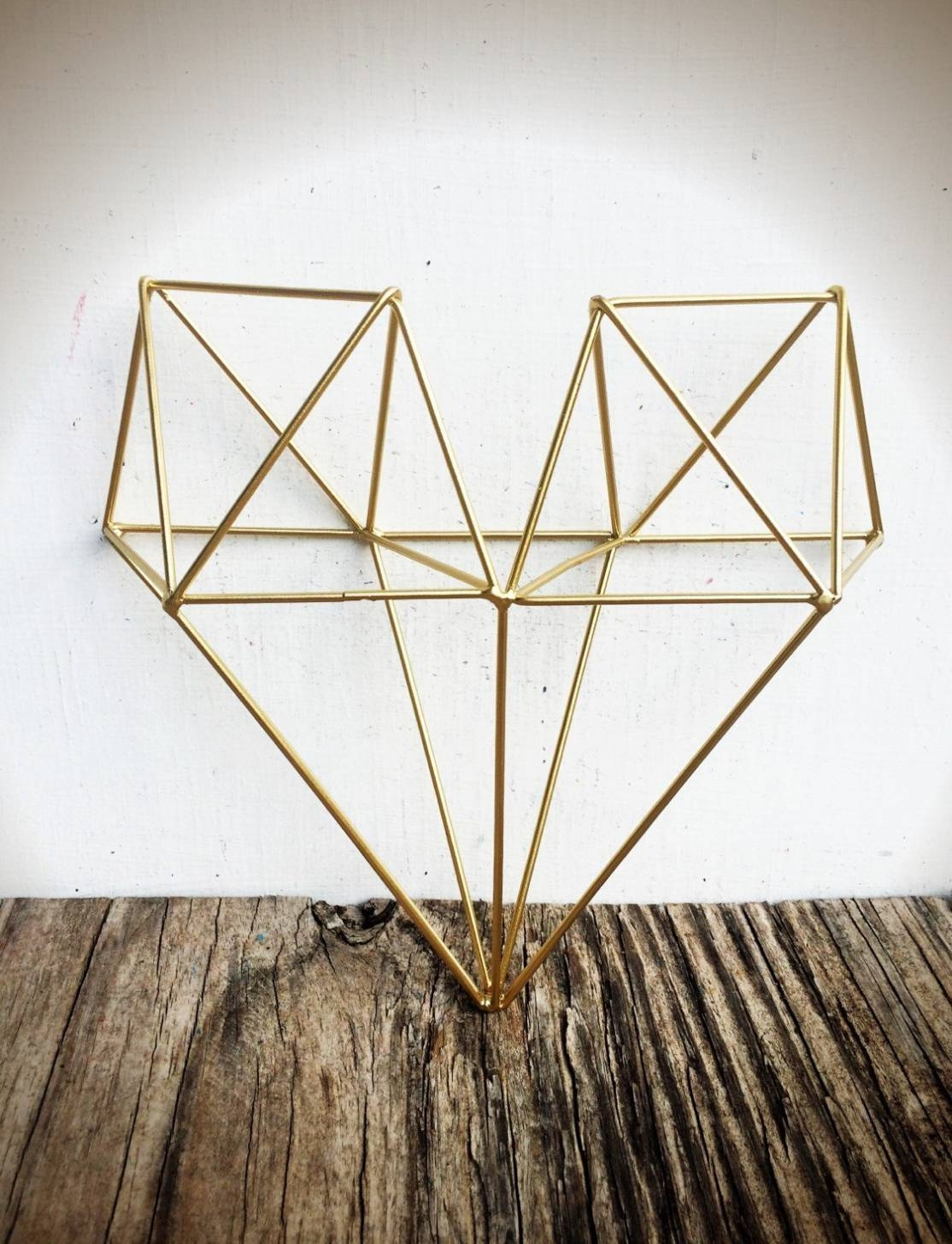18 Collection Of 3D Metal Wall Art With Regard To Most Popular Geometric Metal Wall Art (View 1 of 20)