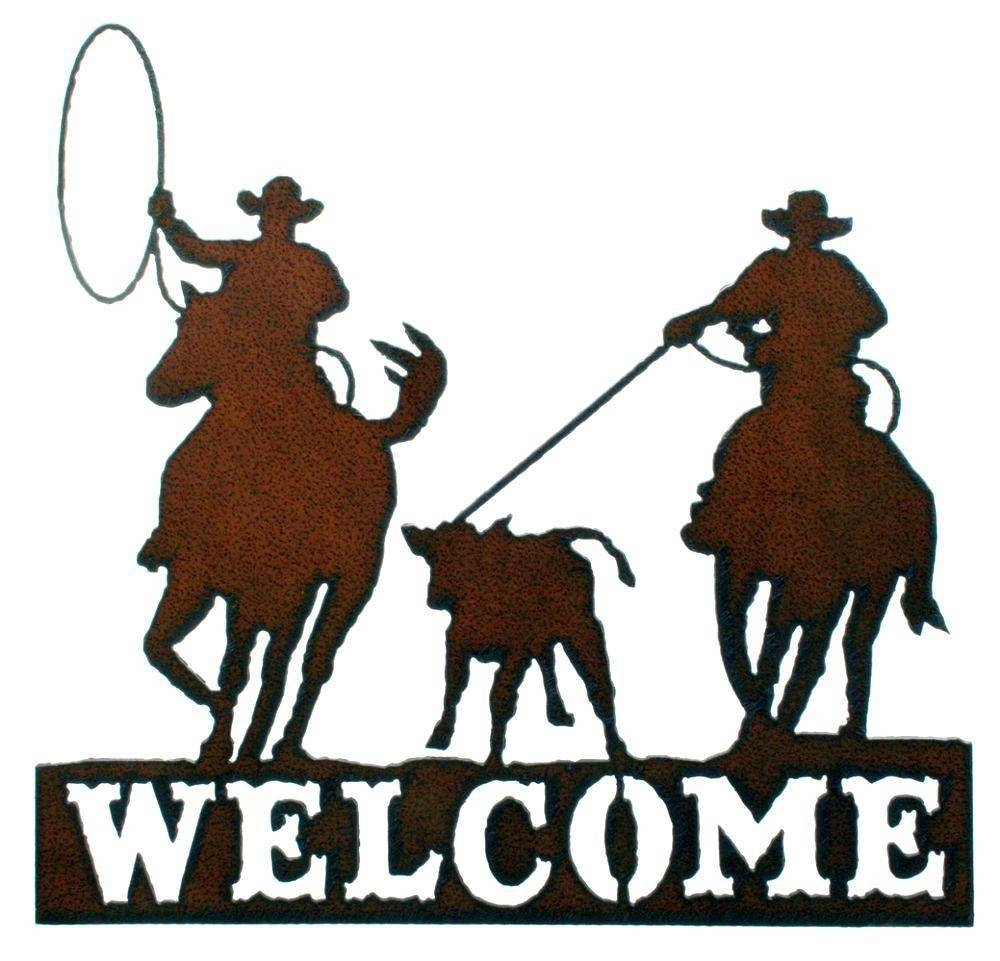 30 Best Collection Of Western Metal Wall Art Silhouettes With Recent Western Metal Wall Art (View 4 of 20)