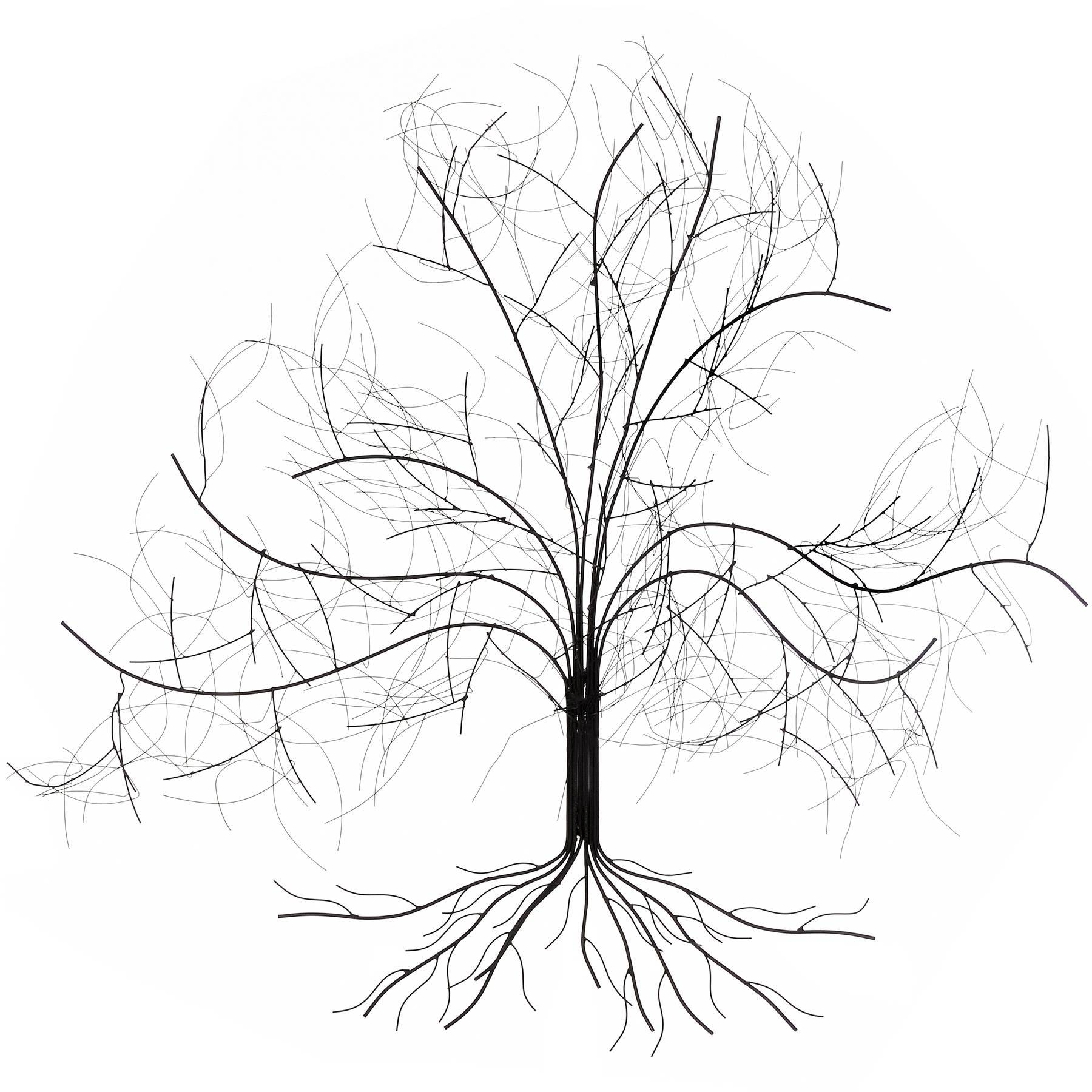 30 Best Ideas Of Oak Tree Metal Wall Art Within Recent Metal Wall Art Tree (View 1 of 20)