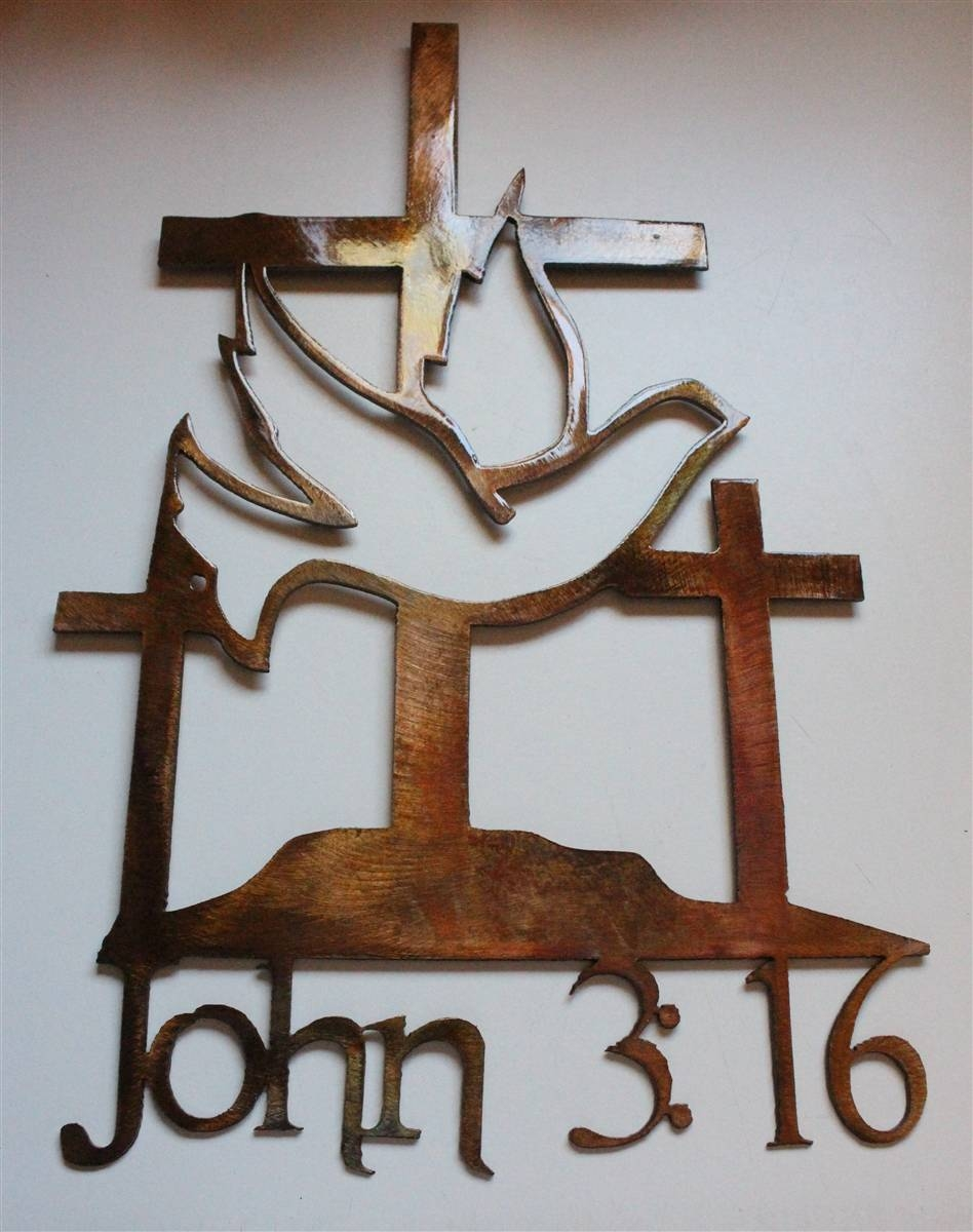 Featured Photo of Religious Metal Wall Art