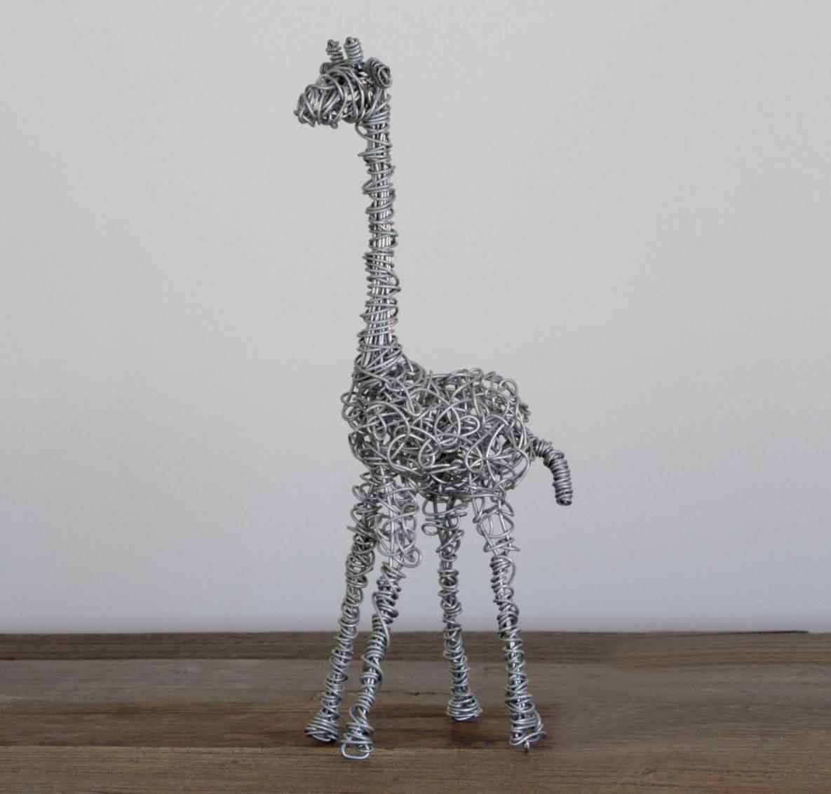 African Forestu Modern Animal Designart Giraffe Metal Wall Art With Regard To Most Up To Date Giraffe Metal Wall Art (View 1 of 20)